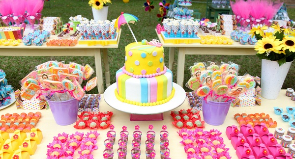 Enfeites de Mesa para Festa Infantil 11