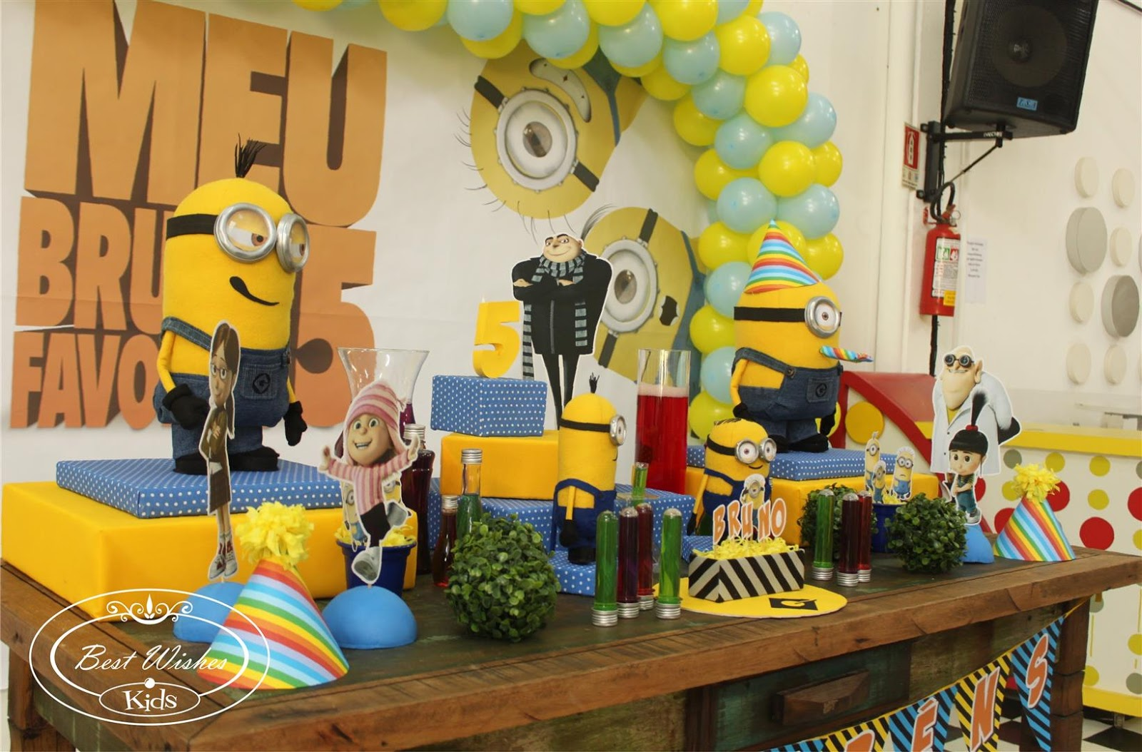 Enfeites de Mesa para Festa Infantil 4