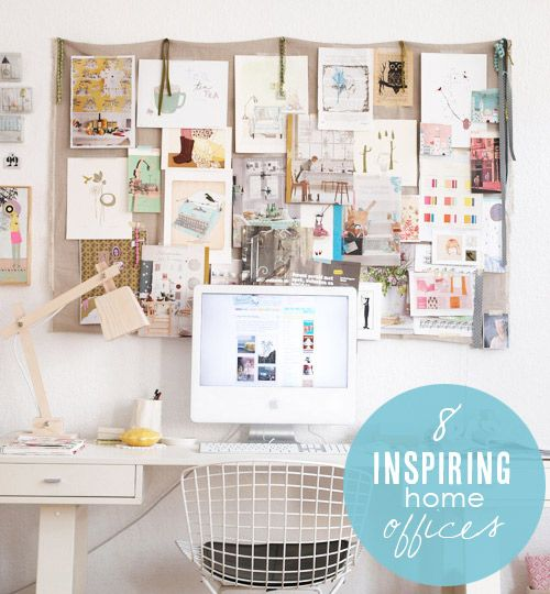 Ideias para decorar o home office 2