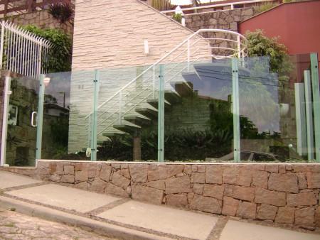 Muro de vidro na decoração 4