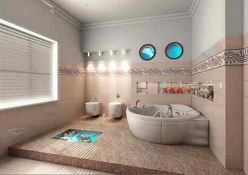 Banheiros Decorados Tendências 2014 3