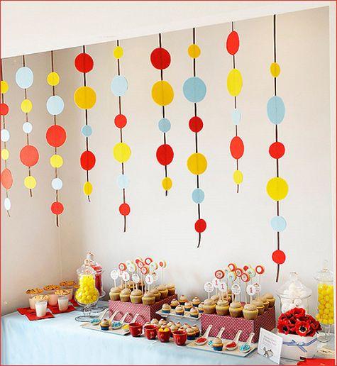 Enfeites de Mesa para Festa Infantil