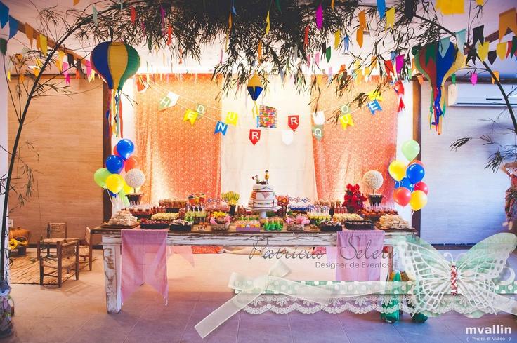 Decoraç u00e3o de Festa Junina -> Decoração De Teto Para Festa Junina