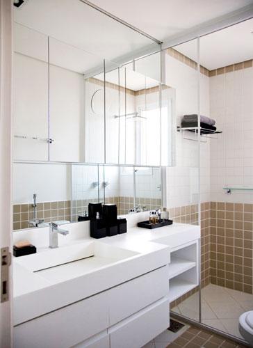 decoracao e banheiro:Fotos de Banheiros pequenos decorados: