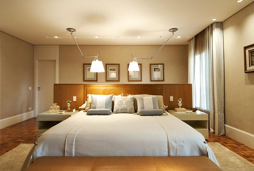 revistas de decoracao de interiores quartos:Quarto de Casal Planejado – Fotos