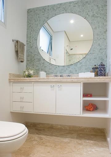 Armario De Parede Banheiro Com Espelho : Arm?rios para banheiros pequenos