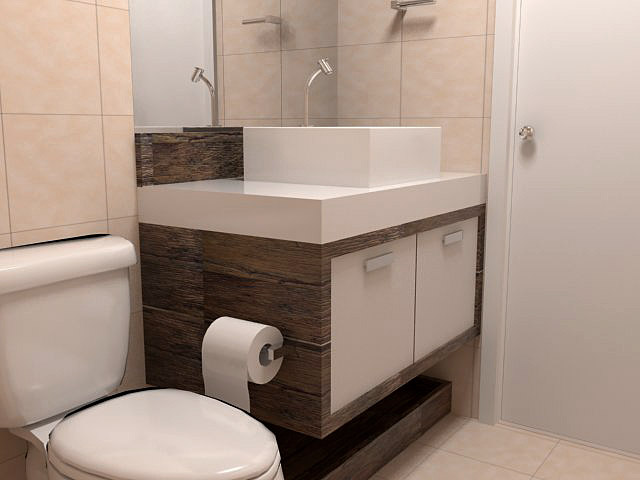 decoracao armario banheiroArmario De Banheiro -> Armario De Banheiro Amadeirado