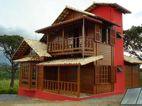 Casas de Madeira - Fotos
