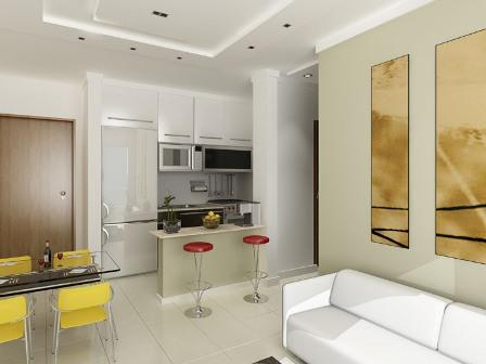 Cozinhas americanas integram ambientes