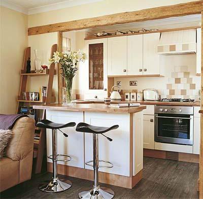 Cozinhas americanas integram ambientes 2