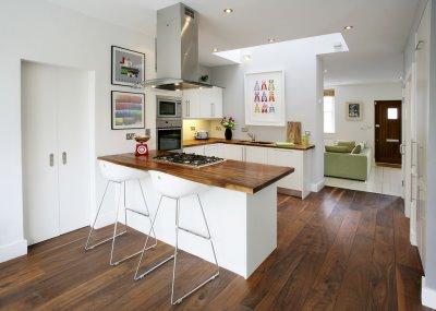 Cozinhas americanas integram ambientes 5