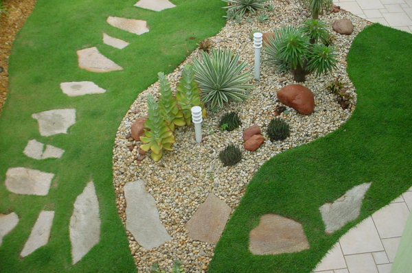 Decoração de Jardim com Pedras  Fotos 6