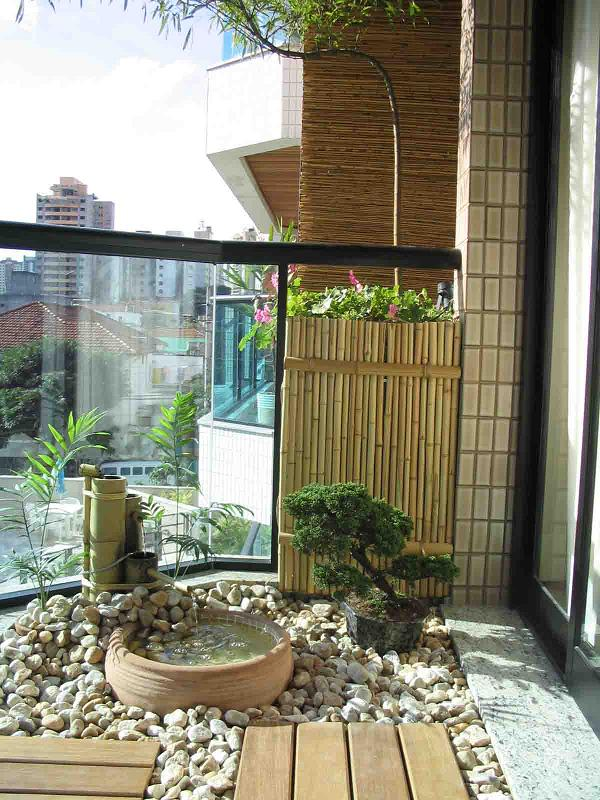 Decoraç u00e3o de Jardim com Pedras F -> Decoração De Jardim Com Pedras Grandes