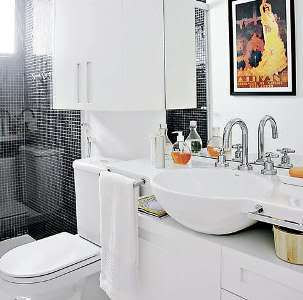Decoração para Banheiros Pequenos - Fotos 6