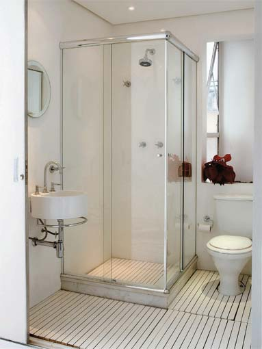 Decoração para Banheiros Pequenos  Fotos -> Fotos De Decoracao De Banheiros Muito Pequenos