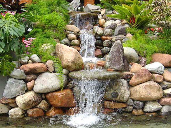 Fontes para Decoração de Jardins