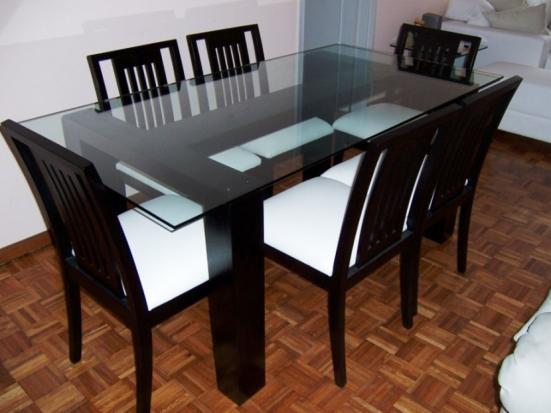 Mesas de Jantar em Vidro - Fotos 4