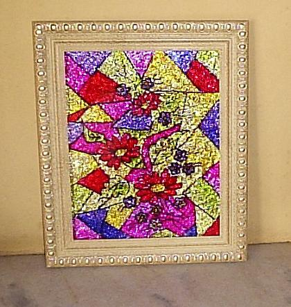 Pintura em Vidro - Fotos