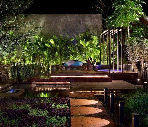 Dicas de Iluminação Jardins 2
