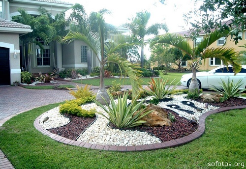 imagens jardins grandes:Landscaping Ideas with Pebbles
