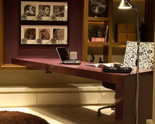 Decorar ambiente de trabalho... em casa