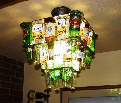 Luminária de garrafa 2