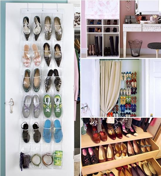 Como organizar calçados e otimizar espaços 3