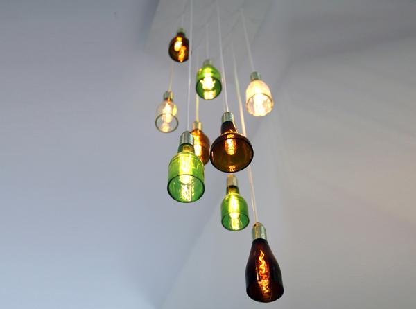 Luminária de garrafa 4