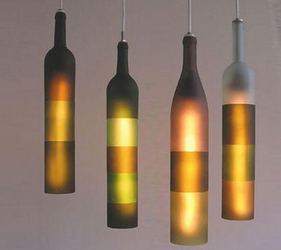Luminária de garrafa 5