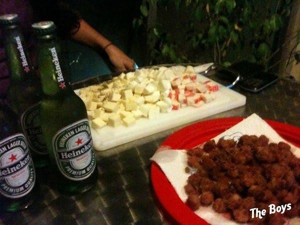 Festinha em casa 3