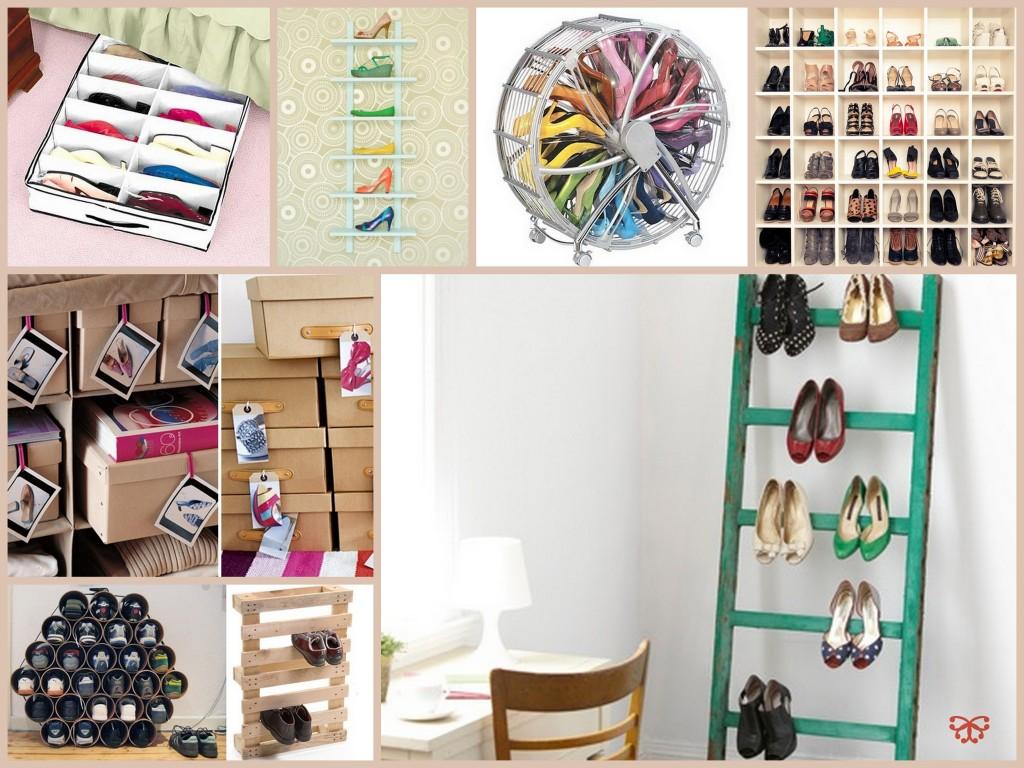 Como organizar calçados e otimizar espaços 2