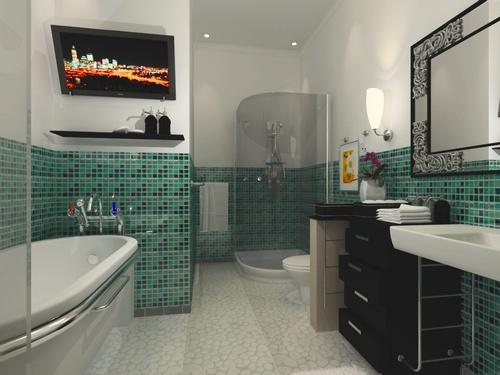 Como decorar um banheiro pequeno