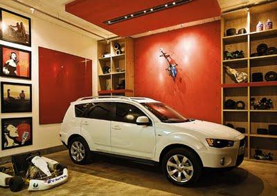 Garagem decorada 2