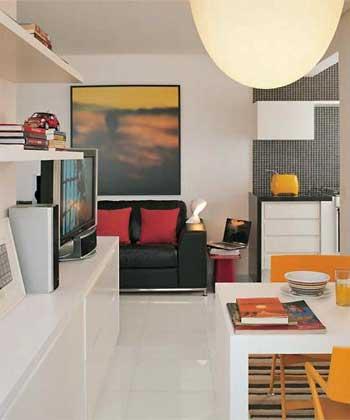 Apartamento de solteiro