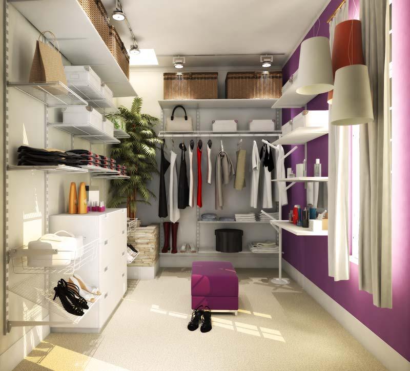 Closet organizado 2