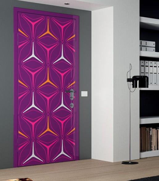 Portas decoradas 3