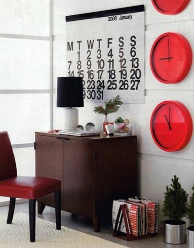 Relógios na decoração 3