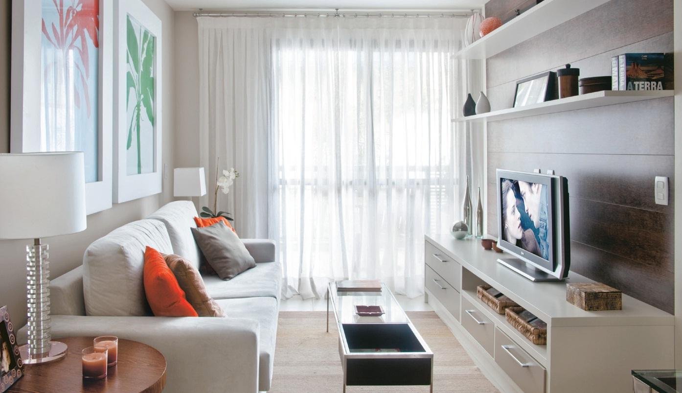 #694739 Dicas para decorar sala pequena 3 1394x803 píxeis em Como Decorar Uma Sala De Tv