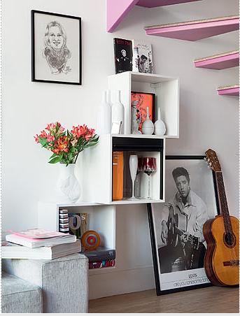 Nichos para decorar e organizar