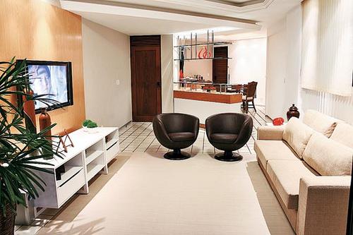 Decora o do apartamento for Modelos de apartamentos pequenos