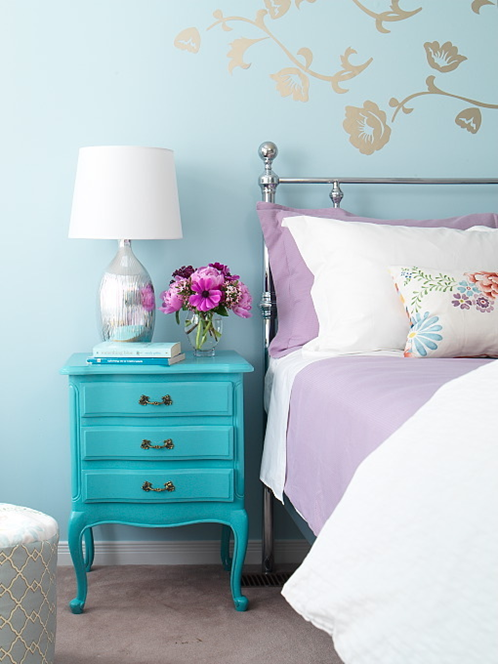 Como combinar móveis coloridos na decoração 5