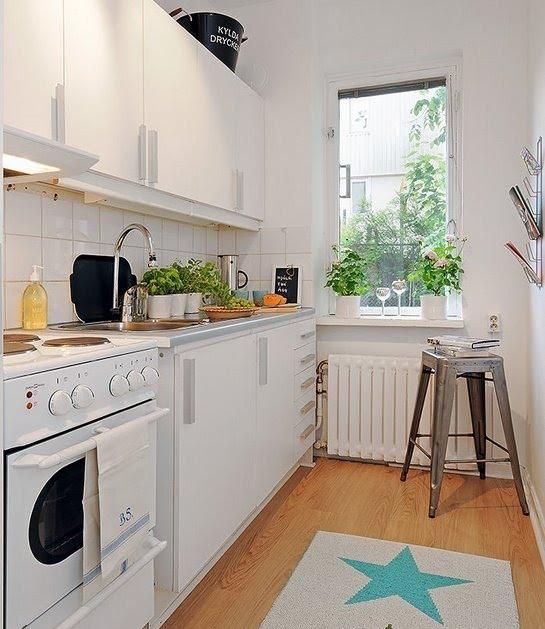 Cozinha em forma de corredor 2