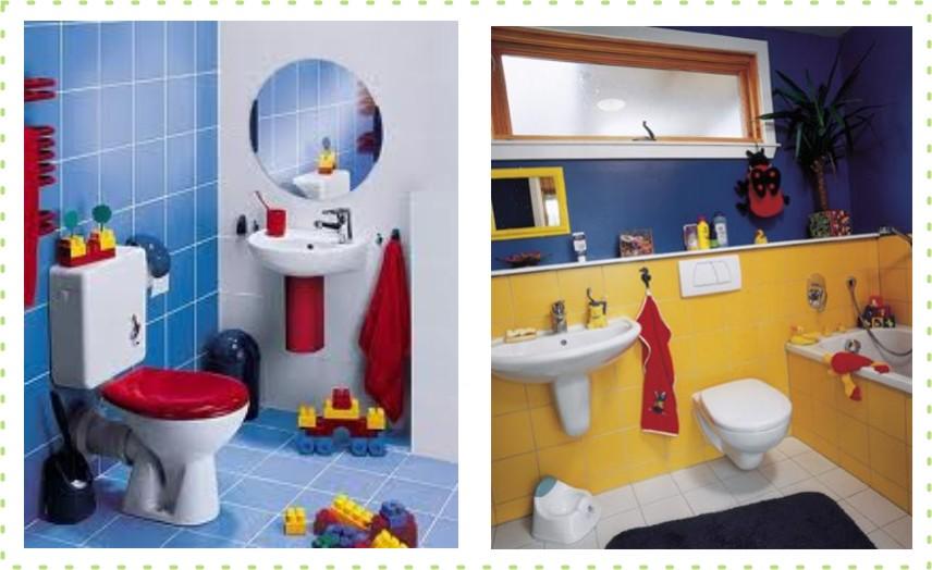Banheiro para as crianças