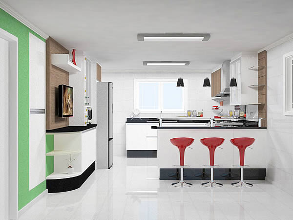 Cozinha simples 7