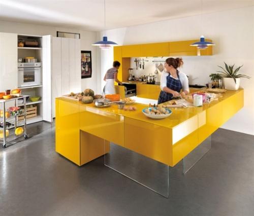 Cores na cozinha 6