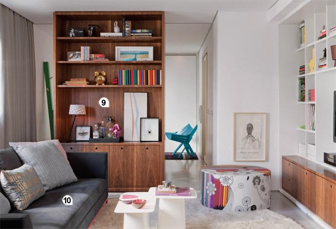 Conforto e personalidade em um apartamento pequeno