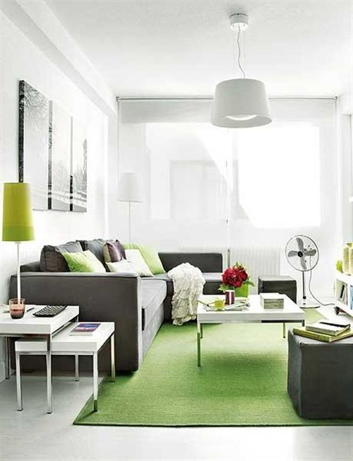 Conforto e personalidade em um apartamento pequeno 2