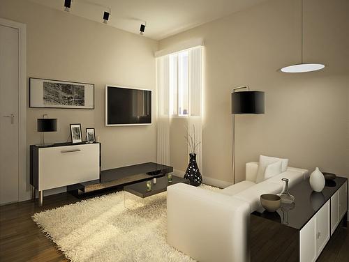 Sala pequena decorada 3