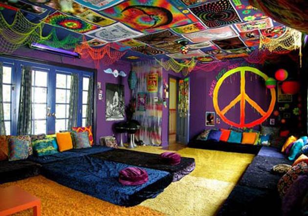 estilo Hippie na decoração  3