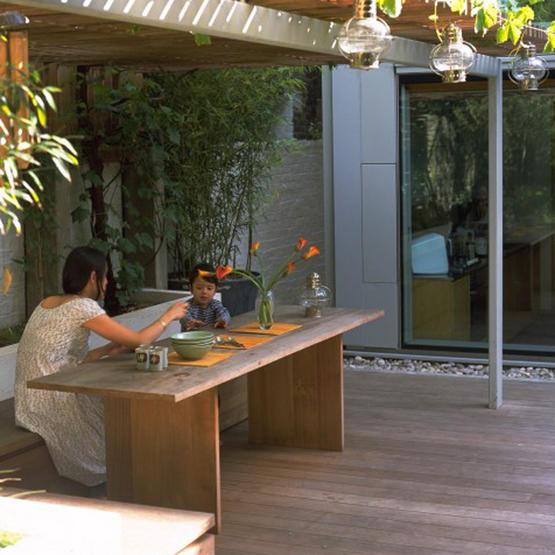 Mesa na varanda 5